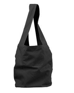 Black 12 oz. Direct-Dyed Sling Bag