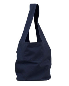 Deep Navy 12 oz. Direct-Dyed Sling Bag