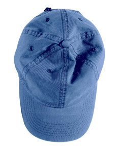 Indigo Direct-Dyed Twill Cap