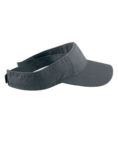 Black Direct-Dyed Twill Visor
