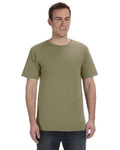 Khaki Green 5.6 oz. Pigment-Dyed & Direct-Dyed Ringspun T-Shirt
