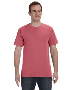 Nautical Red 5.6 oz. Pigment-Dyed & Direct-Dyed Ringspun T-Shirt