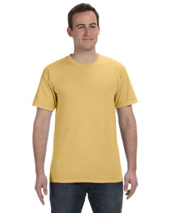 Mustard 5.6 oz. Pigment-Dyed & Direct-Dyed Ringspun T-Shirt