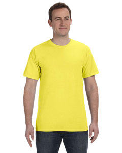 Neon Yellow 5.6 oz. Pigment-Dyed & Direct-Dyed Ringspun T-Shirt