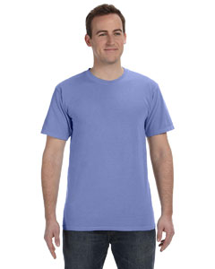 Periwinkle 5.6 oz. Pigment-Dyed & Direct-Dyed Ringspun T-Shirt