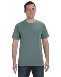 Blue Granite 5.6 oz. Pigment-Dyed & Direct-Dyed Ringspun T-Shirt