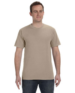 Mocha 5.6 oz. Pigment-Dyed & Direct-Dyed Ringspun T-Shirt