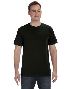 Deep Black 5.6 oz. Pigment-Dyed & Direct-Dyed Ringspun T-Shirt