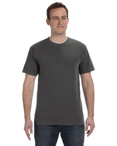 Black 5.6 oz. Pigment-Dyed & Direct-Dyed Ringspun T-Shirt