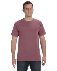 Brick 5.6 oz. Pigment-Dyed & Direct-Dyed Ringspun T-Shirt