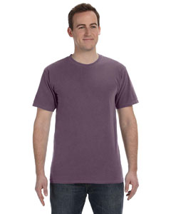 Washed Plum 5.6 oz. Pigment-Dyed & Direct-Dyed Ringspun T-Shirt