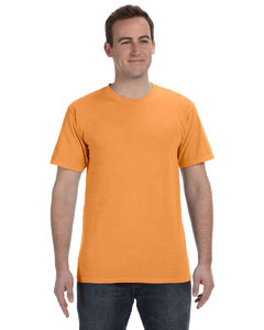 Pumpkin 5.6 oz. Pigment-Dyed & Direct-Dyed Ringspun T-Shirt