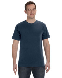 Deep Navy 5.6 oz. Pigment-Dyed & Direct-Dyed Ringspun T-Shirt