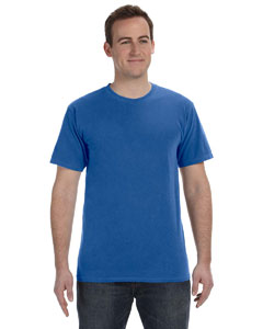 Neon Dark Blue 5.6 oz. Pigment-Dyed & Direct-Dyed Ringspun T-Shirt