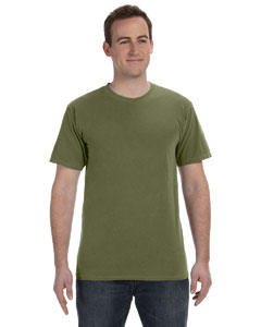 Olive 5.6 oz. Pigment-Dyed & Direct-Dyed Ringspun T-Shirt