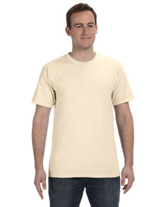 Oyster 5.6 oz. Pigment-Dyed & Direct-Dyed Ringspun T-Shirt