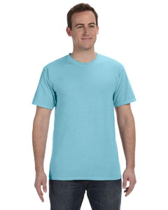 Tropical Blue 5.6 oz. Pigment-Dyed & Direct-Dyed Ringspun T-Shirt