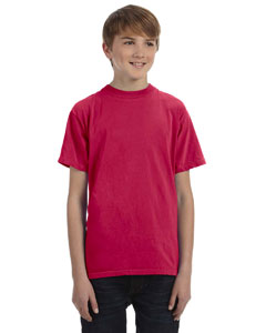 Poppy Youth 5.6 oz. Pigment-Dyed & Direct-Dyed Ringspun T-Shirt