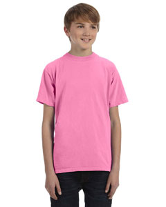 Flamingo Youth 5.6 oz. Pigment-Dyed & Direct-Dyed Ringspun T-Shirt