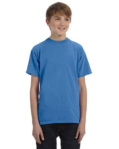 Western Sky Youth 5.6 oz. Pigment-Dyed & Direct-Dyed Ringspun T-Shirt