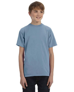 Bay Youth 5.6 oz. Pigment-Dyed & Direct-Dyed Ringspun T-Shirt