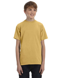 Mustard Youth 5.6 oz. Pigment-Dyed & Direct-Dyed Ringspun T-Shirt
