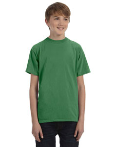 Clover Youth 5.6 oz. Pigment-Dyed & Direct-Dyed Ringspun T-Shirt