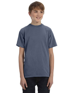 Denim Youth 5.6 oz. Pigment-Dyed & Direct-Dyed Ringspun T-Shirt