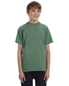 Willow Youth 5.6 oz. Pigment-Dyed & Direct-Dyed Ringspun T-Shirt