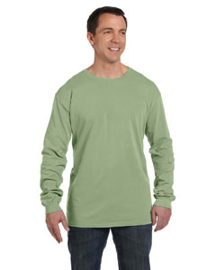 Dillweed 5.6 oz. Pigment-Dyed & Direct-Dyed Ringspun Long-Sleeve T-Shirt