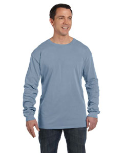Bay 5.6 oz. Pigment-Dyed & Direct-Dyed Ringspun Long-Sleeve T-Shirt