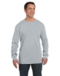 Chrome 5.6 oz. Pigment-Dyed & Direct-Dyed Ringspun Long-Sleeve T-Shirt