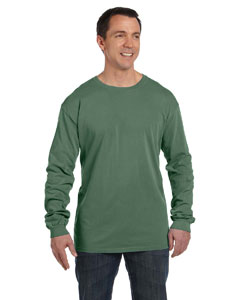 Willow 5.6 oz. Pigment-Dyed & Direct-Dyed Ringspun Long-Sleeve T-Shirt