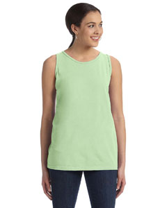 Celery Women's' 5.6 oz. Pigment-Dyed & Direct-Dyed Ringspun Tank