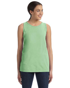 Cricket Green Women's' 5.6 oz. Pigment-Dyed & Direct-Dyed Ringspun Tank