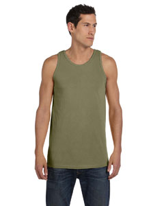 Khaki Green 5.6 oz. Pigment-Dyed Cotton Tank