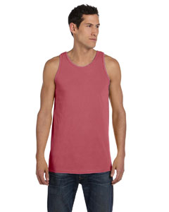 Nautical Red 5.6 oz. Pigment-Dyed Cotton Tank