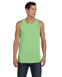 Neon Green 5.6 oz. Pigment-Dyed Cotton Tank