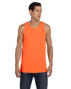 Neon Orange 5.6 oz. Pigment-Dyed Cotton Tank