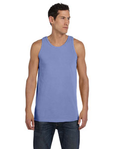Periwinkle 5.6 oz. Pigment-Dyed Cotton Tank