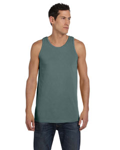 Blue Granite 5.6 oz. Pigment-Dyed Cotton Tank
