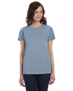 Bay Women's 5.6 oz. Pigment-Dyed & Direct-Dyed Ringspun T-Shirt