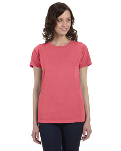 Watermelon Women's 5.6 oz. Pigment-Dyed & Direct-Dyed Ringspun T-Shirt