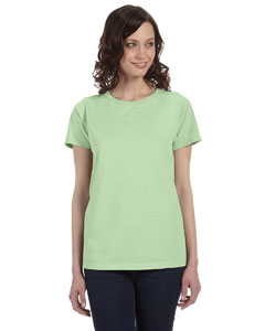 Celery Women's 5.6 oz. Pigment-Dyed & Direct-Dyed Ringspun T-Shirt
