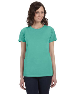Surf Women's 5.6 oz. Pigment-Dyed & Direct-Dyed Ringspun T-Shirt