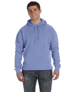 Periwinkle 80/20 Fleece Boxy Pullover Hood