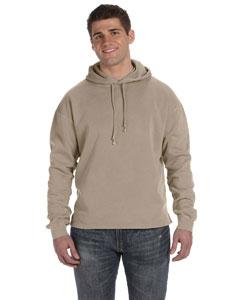 Mocha 80/20 Fleece Boxy Pullover Hood