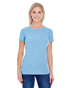 Royal Triblend Ladies' Triblend Short-Sleeve Tee