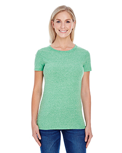 Green Triblend Ladies' Triblend Short-Sleeve Tee