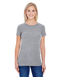 Grey Triblend Ladies' Triblend Short-Sleeve Tee